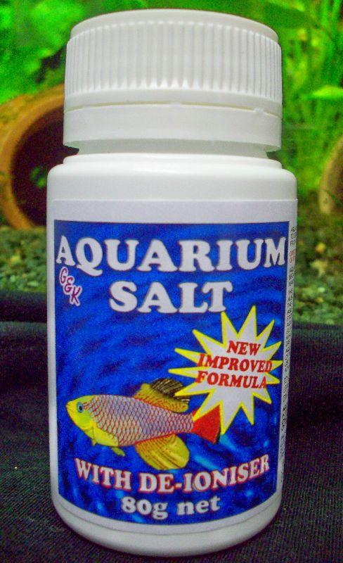 Aquarium Salt De-Ionised 80g
