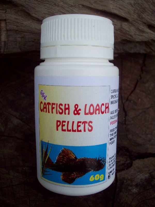 Catfish & Loach Pellet 60g