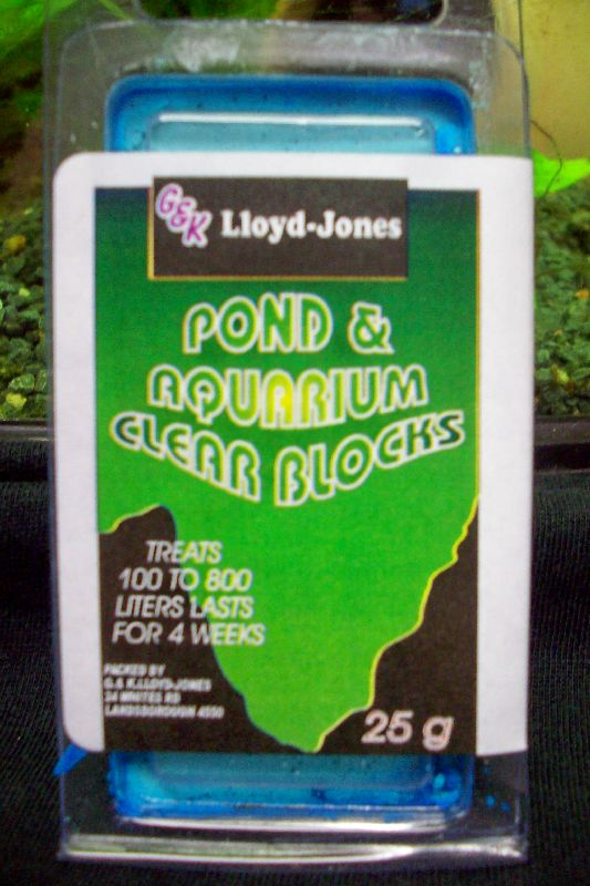 Pond & Aquarium Clear Block 100-800 Litres