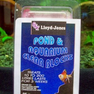 Pond & Aquarium Clear Block 10-100 Litres