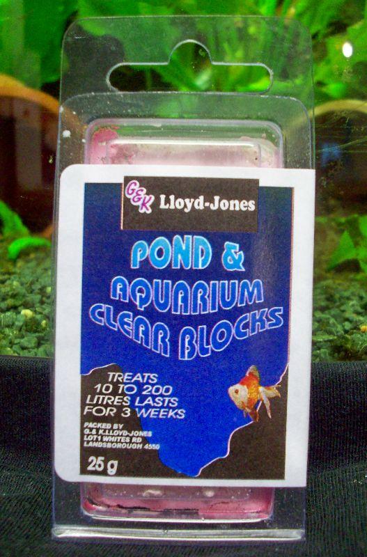 Pond & Aquarium Clear Block 10-100 Litres