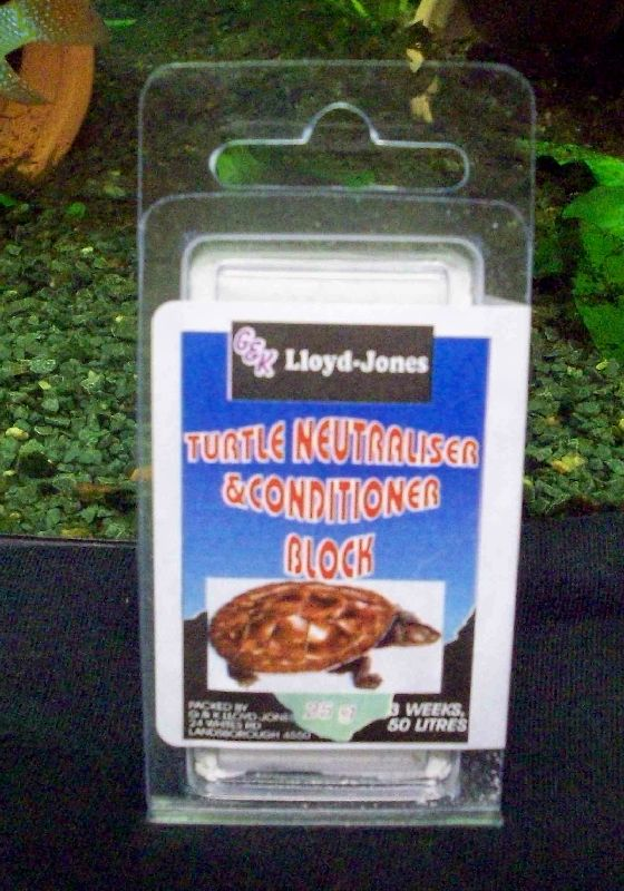 Turtle Water Conditioning Block 25g
