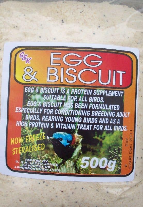 Egg & Biscuit 500g