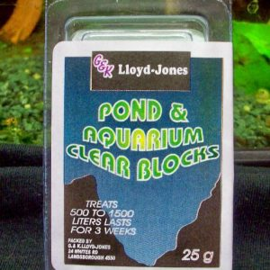 Pond & Aquarium Clear Block 500-1500 Litres