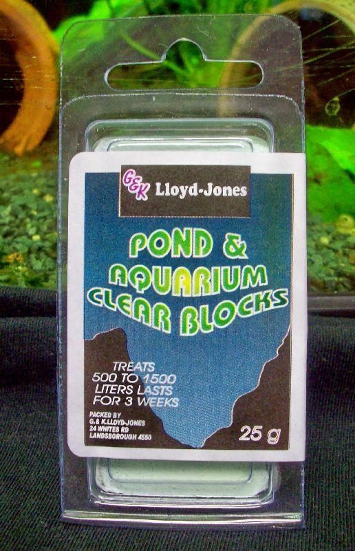 Pond & Aquarium Clear Block 500-1500 Litres